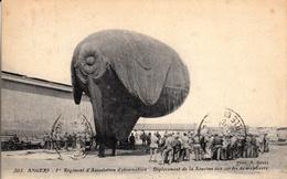 Thématiques 2018 Commémoration Fin De Guerre 1914 1918 Angers 1 Er Régiment D'Aérostation D'Observation Saucisse Cordes - Belgique