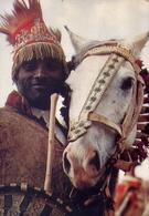 Months Of Sunshine - Adois Abaha - Ethiopian - Cavallo - Formato Grande Viaggiata Mancante Di Affrancatura – E 9 - Cartoline