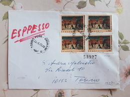(2165) ITALIA STORIA POSTALE 1973 - 1971-80: Poststempel