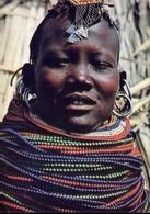 Kensta Tribes Series - Turkana Girli - Donnina - Formato Grande Viaggiata – E 9 - Kenya