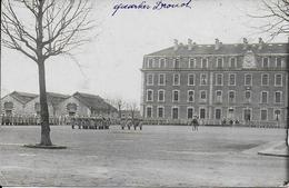 Photo Cpa Nancy- Caserne Landremont Quartier Drouot -remise De La Fouragère Aux Bleus Par Le Colonnel écrite - Photographie