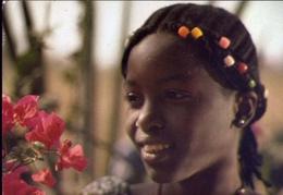 Jeune Fille Peuhl - Donnina - Formato Grande Viaggiata – E 9 - Cartoline