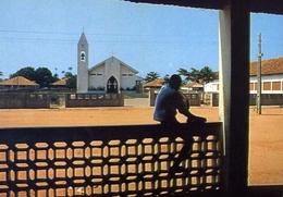 Guinea - Bissau - Africa Occidentale - Chiesa Cattolica Del Bairro D'ajuda - Formato Grande Non Viaggiata – E 9 - Guinea-Bissau