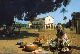 Guinea - Bissau - Africa Occidentale - Donna - Missione Francescana Di Cumura - Formato Grande Non Viaggiata – E 9 - Guinea-Bissau