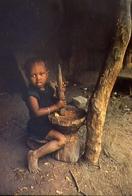 Guinea - Bissau - Africa Occidentale - Menina Da Tribo Balanta - Bimba Della Tribù Balanta - Formato Grande Non Viaggiat - Guinea-Bissau