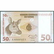 TWN - CONGO DEM. REP. 84A - 50 Centimes 1.11.1997 E-Y (ATB) UNC - Democratic Republic Of The Congo & Zaire
