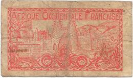 Billet De 50 Cts : Afrique Occidentale Française. (Voir Commentaires) - Billets