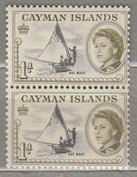 CAYMAN ISLANDS 1962 Pair Ship MNH (**) Mi 155, SG 166 #23304 - Cayman Islands
