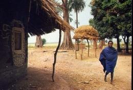Guinea - Bissau - Africa Occidentale - Villaggio Della Tribù Mandinga - Formato Grande Non Viaggiata – E 9 - Guinea-Bissau