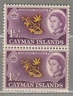CAYMAN ISLANDS 1962 Pair MNH (**) Mi 156, SG 167 #23305 - Cayman Islands