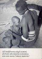 Donnina - Con Che Allatta Il Bambini - Nudo - Formato Grande Non Viaggiata – E 9 - Cartoline