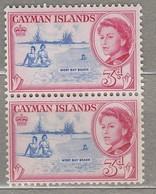 CAYMAN ISLANDS 1962 Pair MNH (**) Mi 159, SG 170 #23306 - Cayman Islands