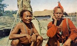 Nagas Konyaks - Catholic Mission - Bishop's House - Dibrugarh Assam -. India - Formato Grande Non Viaggiata – E 9 - India