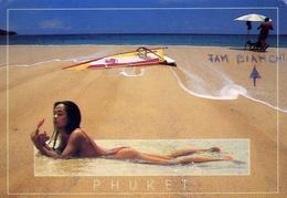 Phuket - Thailand - Donnina - Nudo - Formato Grande Viaggiata – E 9 - Tailandia