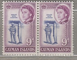 CAYMAN ISLANDS 1962 Pair Fish MNH (**) Mi 162, SG 173 #23308 - Cayman Islands