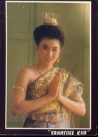 Sawasdeee Kha - Thai Cortesy For Welcome - Thailand - Formato Grande Viaggiata – E 9 - Tailandia