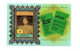 The Green Book - Qathafi -voir état - Libya