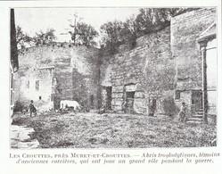 1924 - Iconographie - Muret-et-Crouttes (Aisne) - Les Crouttes - FRANCO DE PORT - Non Classés