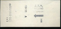 TR59 ATM MILANO - Métro