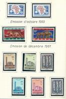 217/218 +216A/216B +225/230 (10w.) XX Timbre Neuf / Postfris / MNH / O.C. 5,05€ - 1948-61: Nuovi