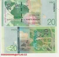 NEW ,,20 DOBRAS STP ,UNC  1 Pc ,,fauna  FROG - Sao Tomé Et Principe