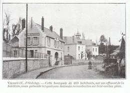 1924 - Iconographie - Vierzy (Aisne) - L'entrée Du Village - FRANCO DE PORT - Non Classés