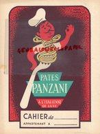 BUVARD PATES PANZANI-PATES ALIMENTAIRES A L' ITALIENNE -ILLUSTRATEUR HERVE MORVAN -ECOLE TABLE ADDITION DIVISION - Food