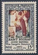 France Rep. Française 1951 Mi 922 YT 904 SG 1126 ** Saint Nicolas - Bilderbogendruckerei / Musée L'imagerie - Frankrijk