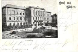 Giessen, Universität, 1900 Von Und Nach Giessen Versandt - Giessen