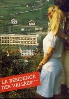 La Bresse - Vosges - Hotel Des Vallees - Formato Grande Viaggiata Mancante Di Affrancatura – E 9 - Cartoline