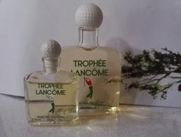 Miniature Parfum Trophée De Lancome  Homme 15 Ml Et 3,5 Ml - Miniatures Anciennes (jusque 1960)