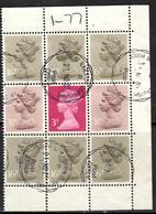 GB+ Großbritannien 1980 1983 Mi 854 946-47 H-Blatt 114 Elisabeth II. - 1952-.... (Elizabeth II)