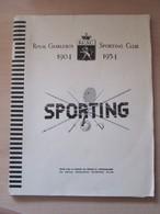 Sporting Charleroi Livres - Books