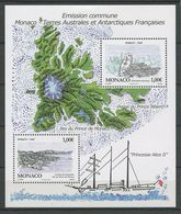MONACO 2012 N° F2829 ** ( 2829/2830 ) Neuf MNH Superbe Faune Oiseaux Pétrel Bateaux Sailboat Archipel Kerguelel îles - Neufs