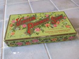 Boîte En Carton   Ancienne Vinolia Premier Soap London England - Boîtes/Coffrets