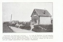 1924 - Iconographie - Laffaux (Aisne) - Le Nouveau Village - FRANCO DE PORT - Non Classés