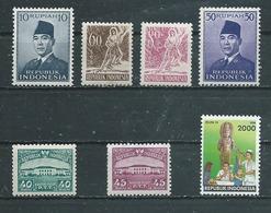 INDONESIE   Yvert  N° 40-58-61-71 * Et 51-56-1360 ** - Indonesia