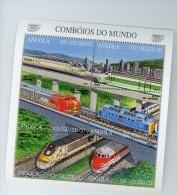 Angola 1997-Trains éléctriques-YT 1061/66***MNH - Angola