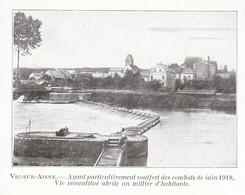 1924 - Iconographie - Vic-sur-Aisne (Aisne) - Le Barrage - FRANCO DE PORT - Non Classés