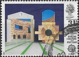 GREAT BRITAIN 1987 Europa. British Architects In Europe -  34p - European Investment Bank, Luxembourg FU - Used Stamps