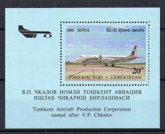 OUZBEKISTAN Timbre Neuf ** De 1995 ( Ref 5812 ) Transport - Avion - Ouzbékistan