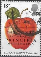 GREAT BRITAIN 1987 300th Anniv Of Principia Mathematica By Sir Isaac Newton - 18p Principia Mathematica FU - Used Stamps