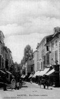 1910 - Cpa 17 Saintes, Rue Alsace Lorraine - Saintes
