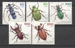 Germany, Yvert 1497/1501, Scott B745/749, MNH - [7] Federal Republic