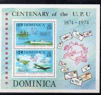 DOMINIQUE   Timbres Neufs ** De 1974 ( Ref 5814 ) Transport -bateau - Avion-  UPU - Dominique (1978-...)