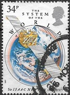 GREAT BRITAIN 1987 300th Anniv Of Principia Mathematica By Sir Isaac Newton - 34p - The System Of The World FU - Used Stamps