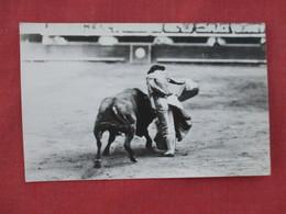 RPPC  Mexico Bull Fight  Alberto Balderas       Ref 3077 - Corrida