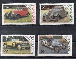 TANZANIE   Timbres Neufs ** De 1986 ( Ref 5816 ) Tranport - Automobiles Anciennes - Tanzanie (1964-...)