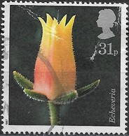 GREAT BRITAIN 1987 Flower Photographs By Alfred Lammer - 31p - Echeveria FU SOME SURFACE MARKS - Used Stamps