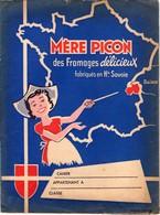 Protège Cahier - Mère Picon - Fromages Fabriqués En Haute Savoie - Disney - Mickey Voir Recto Verso - Food
